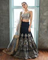 Bollywood Pakistani Choli Lehenga Lengha Wear Wedding Indian Party Designer Rtc
