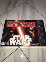 Monopoly Game Star Wars Factory Sealed In Retail Box