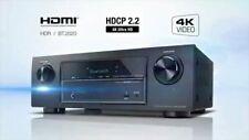 Denon AVR-X520BT 5.1A/V Receiver 4kUltra HD HDMI Bluetooth USB OSD Zubehör Tuner