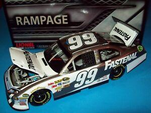 Carl Edwards 2012 Fastenal #99 Rampage Finish Ford 1/24 NASCAR Diecast 1 of 180
