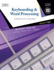 Keyboarding & Word Processing, Complete Course, Lessons 1-120 (College Keyboardi