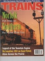 Trains Magazine Railroading Oct 1997 Norfolk Southern Nickel Plate Line  CSX