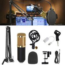 Condenser Microphone Mic Studio Audio Broadcasting Recording Podcast Shock Mount