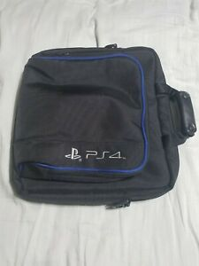 Official RDS Industries Playstation 4 PS4 Travel Case Carrying Bag Black Sony