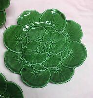 Bordallo Pinheiro Geranium Salad Plates Set Of 4