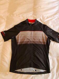 Giro Chrono Expert Cycling Jersey Men's XL Black/Red