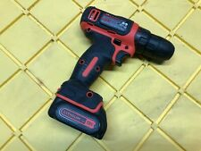 Black and Decker 12V Lithium Drill BDCD12 AND BATTERY