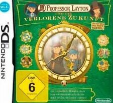 Nintendo DS 3DS Professor Layton und die verlorene Zukunft * Top Zustand