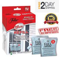 New 🔥 2 Full Crystal Refill Packets Fuller Brush Full Exterior Cleaner Powder