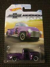 Hot Wheels 2018 Chevrolet Trucks 100 Years Series #1 '52 Chevy Purple