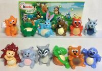 Kinder Surprise, Frohliches Tiere in Natur UN 009-020 Series, Forest Animals Vel