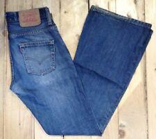 Levi's 516 04 Bootcut Style Denim Jeans. W27 L32 Ref 20057