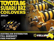 YELLOW-SPEED RACING COILOVERS Toyota 86 / Subaru BRZ 2012+ yellowspeed GT86