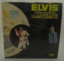 ELVIS PRESLEY (ALOHA FROM HAWAII VIA SATELLITE)~RCA 2 LPs 1973 VPSX-6089 VG+/VG