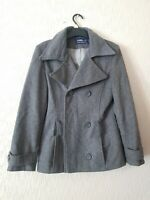 ANDROSE LONDON PARIS NEW YORK WOOL  GREY JACKET SIZE 12 CONDITION USED