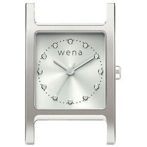 wena wrist replacement head Three Hands Square Head Silver WN-WT11S-H