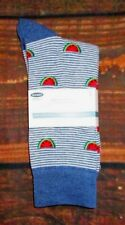 MENS OLD NAVY WATERMELON BLUE SOCKS ONE SIZE