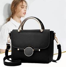Women Faux Leather Handbags Ladies Shoulder Bag Purse Messenger Tote Satchel