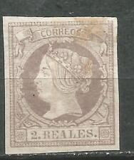 Spain Edifil # 56 1860 ISBEL II Nuevo