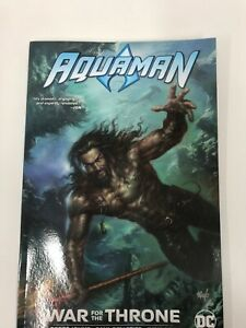 Aquaman - War for the Throne- Paperback Book - New - DC Comics