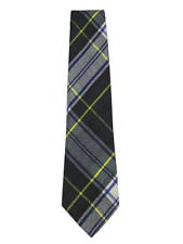100% Wool Traditional Scottish Tartan Tie - Dress Gordon