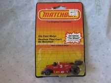 1983 Matchbox Red #3 Fiat Pirelli F1 Formula Racer Car MB-16 (NOC)
