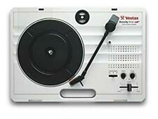 Vestax Portable Turntable handytrax USB WHITE Excellent From Japan Tested