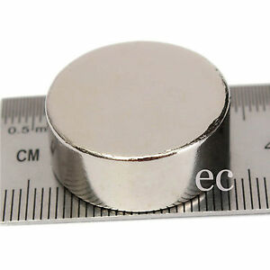 20mm x 4mm Very Strong Rare Earth NdFeb Large Neo Neodymium Disc Round Magnet