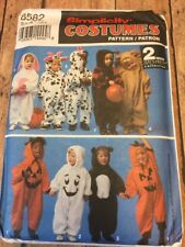 S8582 New Uncut Infant Toddler Costume Pattern