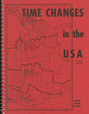 Time Changes in the USA-1973-Daylight-War-World Standard-Reference Table-Zones