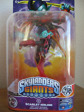 Skylanders Giants SCARLET NINJINI Single Figure PS3, XBOX 360, WII, WII U, MINT