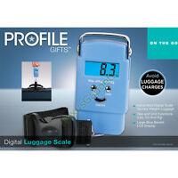 Gije Digital Luggage Scale Portable Hanging Weight Baggage Bag Travel TSA, New