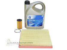 VAUXHALL INSIGNIA 1.8 ENGINE OIL LONGLIFE 5W30 5LT & OIL AIR FILTER SERVICE KIT