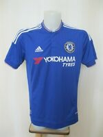 Chelsea London 2015/2016 Home Size L Adidas football jersey shirt maillot soccer