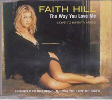 Faith Hill-The Way You Love Me cd maxi single