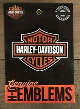 Harley-Davidson Leder-patch / Aufnäher Willie G Skull
