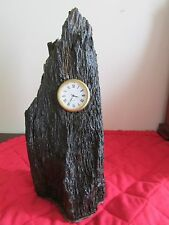 "STRULE VALLEY CRAFTS DRIFTWOOD CLOCK, 8.5"" HEIGHT, NEW BATTERY."