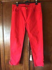 Pantalon rouge Femme TBE en Coton 🌹Taille M