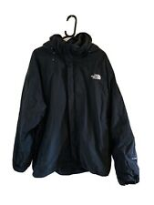 Black The North Face Fleece Lined HyVent Coat Size XXL (6475)