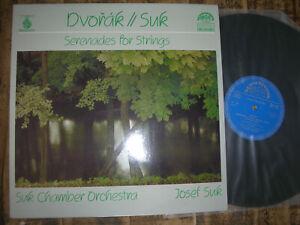 DVORAK / SUK ( Violine) Serenades for Strings  LP VINYL M/NM digital VINYL