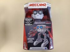 Mecanno STEM Robotic Micronoid RED Socket Programmable 123 Pcs New