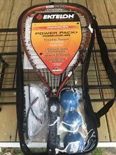 New listing EKTELON 900 Power Pack + Racquetball Set - Racquet, 3 Balls, & Eyeguards NEW