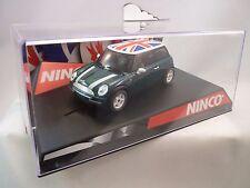 "NINCO 1/32 SLOT CAR #50301 MINI COOPER ""UNION JACK"""
