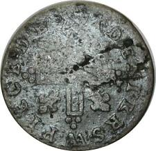 O1021 RARE !!! Louis XIV 15 XXX Deniers 1712 AA Metz ->Make offer