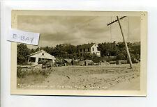 Cape Cod MA Mass RPPC real photo Wareham Hamilton Beach hurricane damage 1938