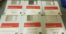 Wordworth V2 Amiga 1992 Vintage Floppy Disks For Workbench 1.3