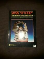 ZZ TOP SLEEPING BAG BY BILLY GIBBONS DUSTY HILL FRANK BEARD SHEET MUSIC BOOK