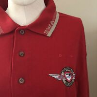 Vintage 90's Southwest Airlines Flight Attendant Polo EUC SZ Large FREE SHIP
