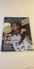 """LeBron James Sports Illustrated SI """"The Chosen One"""" Autographed Auto"""