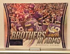 2014 PANINI SCORE BROTHERS IN ARMS SUBSET #BA-18 VIKINGS     WM8